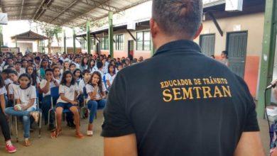 Photo of SEMTRAN ministra palestra sobre educação no trânsito na escola Cecília Meireles