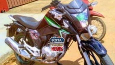 Foto de Motocicleta é furtada no bairro Bela Vista, próximo da ASMUV em Vilhena