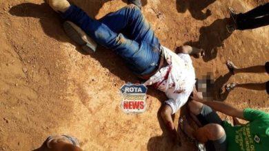 Foto de Homem alvejado no Cristo Rei morre no Hospital Regional, ele ainda não foi identificado