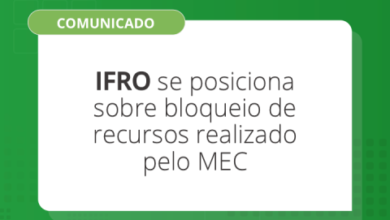 Photo of IFRO se posiciona sobre bloqueio de recursos  pelo MEC e anuncia  inviabilização de funcionamento a partir de outubro