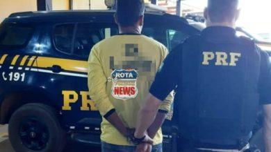 Photo of Em Vilhena, Polícia Rodoviária Federal prende foragido por roubo praticado em Porto Velho