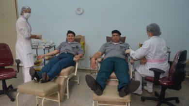 Photo of Doando vida – Policiais militares do CFS III doam sangue e se cadastram no banco de medula óssea