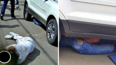 Photo of Dono de posto de combustível atropela bandidos após ter malote de dinheiro roubado