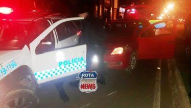 Photo of Motorista protagoniza fuga alucinada e termina preso após atingir viatura da Polícia Militar