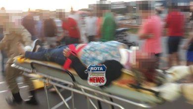 Foto de Vilhena: mulher envolvida em acidente entre motos na BR-364 que deixou um morto luta pela vida enquanto aguarda vaga em UTI de Cacoal