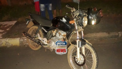Photo of Motorista avança preferencial e provoca acidente com moto de entregador de pizzas