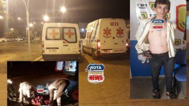 Photo of Jovem espancado no Centro de Vilhena é transferido em ambulância UTI para hospital de Cacoal/RO