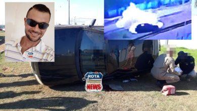 Photo of Vídeo: câmeras de segurança flagraram momento de acidente fatal na BR-174 em que motorista saiu da pista e tombou carro