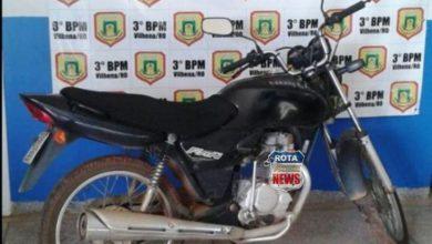 Photo of Policiais militares de Chupinguaia recuperam moto que foi furtada em Rolim de Moura