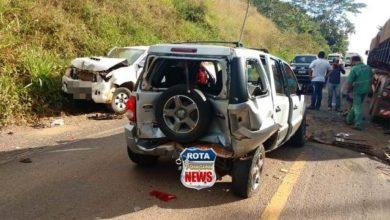 Photo of Em mais um acidente na BR-435, três  veículos se envolvem em colisão