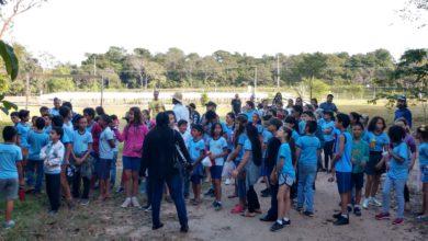Photo of Atividade ambiental no Parque Ecológico envolveu 500 crianças e adolescentes com visita exploratória