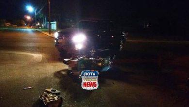 Photo of Motociclista sofre ferimentos após ser atingido por camionete dirigida por motorista de aplicativo
