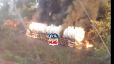 Photo of Motorista que morreu carbonizado após acidente na BR-364 é identificado pela PRF