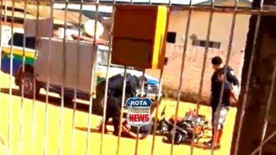 Photo of Jovens alugam motocicleta, fogem da polícia e acabam detidos