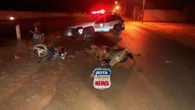 Photo of Motociclista que transitava com farol apagado provoca acidente em avenida de Vilhena