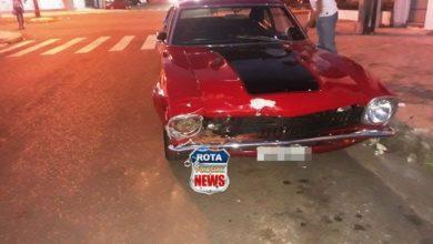 Photo of Colisão envolve três carros na região central da cidade de Vilhena