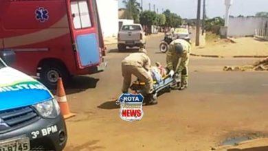 Photo of Colisão entre motoneta e bicicleta é registrada no bairro Cristo Rei
