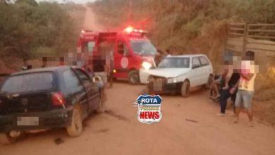 Photo of Colisão entre veículos na linha 135 em Vilhena deixa feridos no final de semana