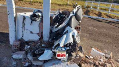 Photo of Motociclista sofre ferimentos ao atingir mureta no parque de exposições