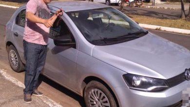 Foto de CMA Proteção Veicular entrega carro arrumado a cliente que se envolveu em acidente na cidade de Vilhena