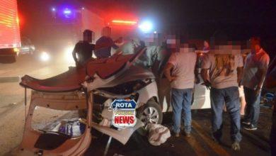 Photo of Colisão envolve três veículos e deixa vítimas presas nas ferragens na BR-364