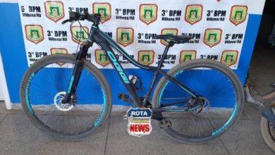 Photo of Polícia  Militar recupera bicicleta furtada e procura por proprietário em Vilhena