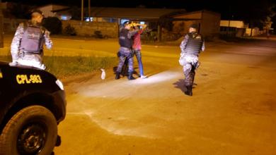 Photo of PM apreende droga, munição e moto durante fiscalização em Vilhena; suspeito foi preso