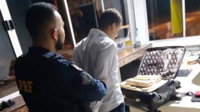 Photo of Em Ji-Paraná, PRF prende homem transportando tabletes de maconha