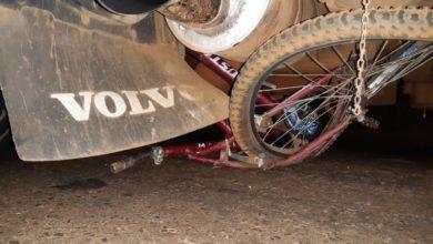 Photo of Ciclista de 57 anos atropelado por carreta morre no hospital.