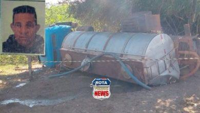Photo of Motorista de 56 anos morre esmagado pelo caminhão que dirigia em Cerejeiras