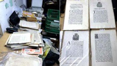 Photo of Documentos que contam a história do Brasil eram vendidos em leilões virtuais