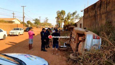 Photo of AZARADOS: Assaltantes são atropelados após roubos e carro capota