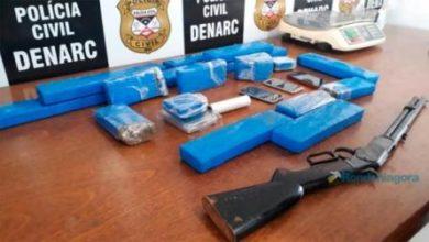 Photo of Foragidos perigosos de Ji-Paraná são presos em Porto Velho com 13 quilos de maconha