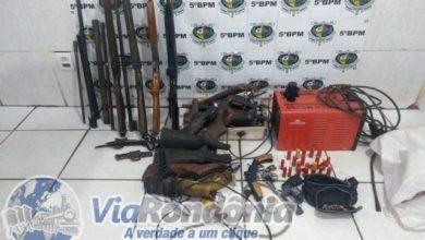 Photo of Polícia fecha fábrica clandestina de arma de fogo e prende suspeito com várias armas