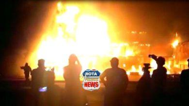 Photo of Urgente: incêndio de grandes proporções atinge empresas em Ji-Paraná/RO