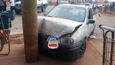 Photo of Motorista tenta ultrapassagem irregular e em alta velocidade e acaba atingindo pilar do mercado Rondônia
