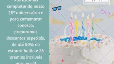 Foto de Ótica A Menina dos Olhos faz aniversário mas quem comemora é você