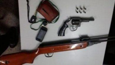 Photo of Empresário é preso por porte ilegal de armas ao ser flagrado com armamento em camionete
