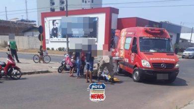 Foto de Motocicletas colidem e acidente deixa feridos em Vilhena