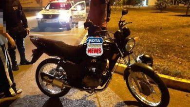 Photo of Colisão entre carro e motocicleta deixa um ferido na avenida Presidente Nasser