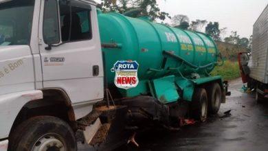 Photo of Caminhões colidem na BR-364 entre Jaru e Ariquemes nesta terça-feira