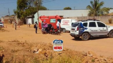 Photo of Motociclista sofre ferimentos após colisão entre carro e moto no Cristo Rei
