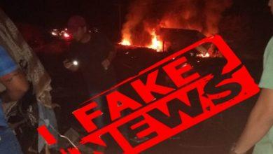 Photo of É FAKE: mensagem e fotos de grave acidente na BR de Colorado do Oeste não é verdade