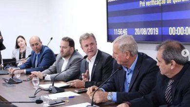 Foto de Terça-feira produtiva: Luizinho Goebel participa de reuniões e recebe visitas importantes
