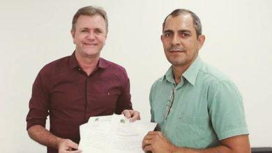 Photo of Luizinho Goebel recebe a visita do vereador Reni de Oliveira, de Urupá