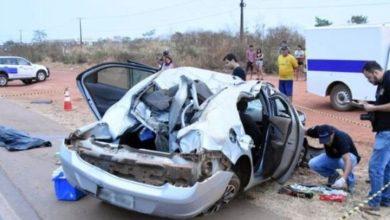 Photo of Jovem de 26 anos morre após ser lançado para fora de veículo em capotamento na BR-364