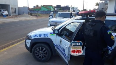 Foto de Argentino é preso pela Polícia Militar após tentar molestar mulher no Centro de Vilhena