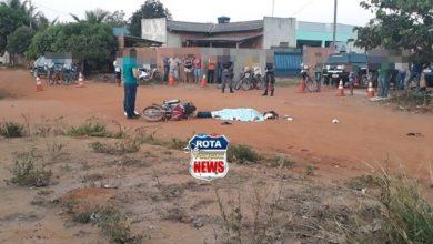 Foto de Identificado motociclista que teve o crânio esmagado por caçamba após acidente em Vilhena