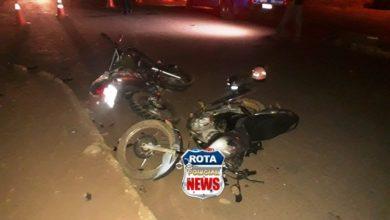 Photo of Motociclista sofre possível fratura na perna após colisão entre motocicletas na avenida Melvin Jones