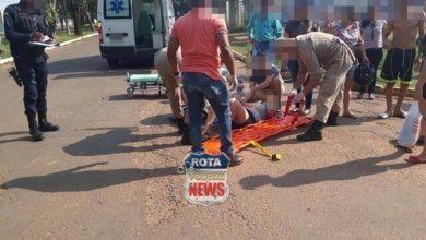 Photo of Duas mulheres sofrem ferimentos após terem Biz atingida por Saveiro cujo motorista avançou preferencial